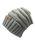 2owlisters changingdestiny cc beanie hat light grey