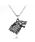 2owlsisters wolf midieval game of thrones pendant necklace