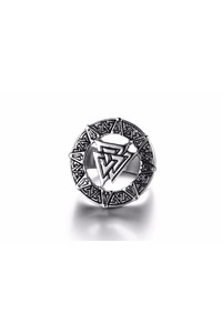 Valknut ring top