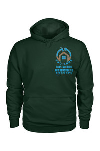 Hoodie forest green