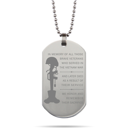 Dogtag remembervietnamvets