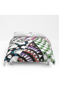Unsymmetrical angles582992 comforters