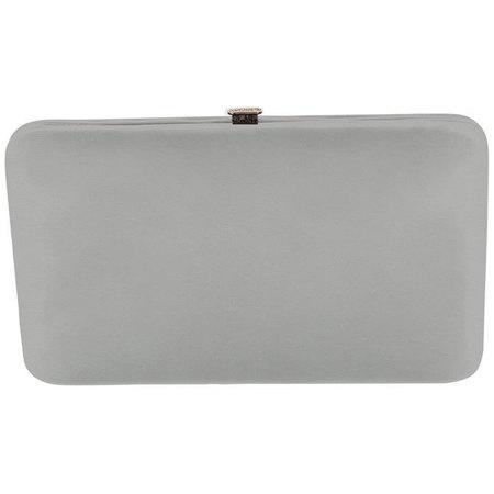 Gray flat wallet