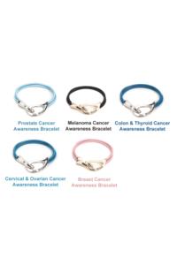 Cancer awareness bracelet