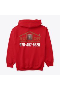 Men's hoodie red