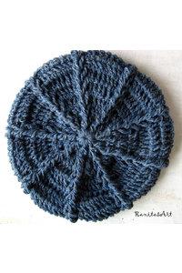 Blue jean hat 3