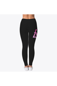 Leggings back black