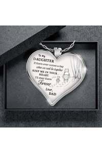 Pooh dad necklace