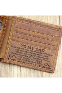 Dadgirl so much of   brown wallet mk