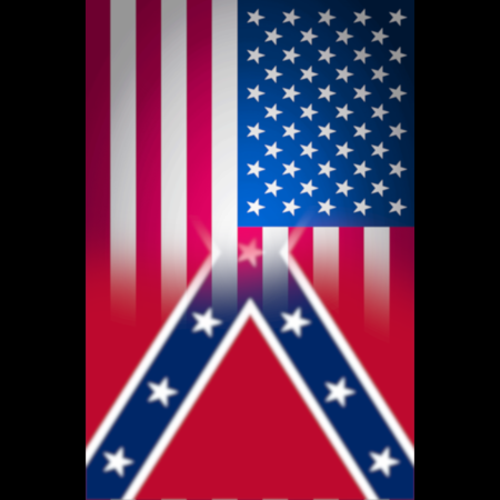 U.s. flag and confederate flag final