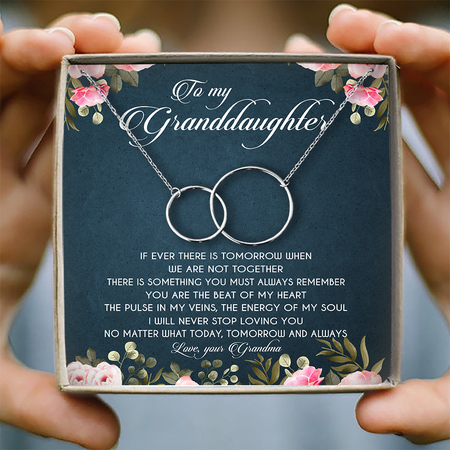 To my granddaughter 1