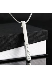 Vertical stick necklace number 1