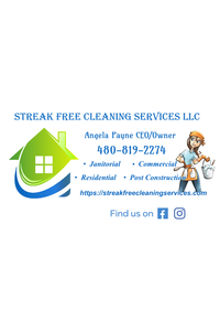 Streak free cleaning services llc business card revised 11 24 2020 front