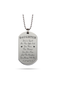 Dogtag daughterlittlegirl