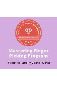Mastering finger picking program  450