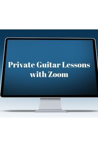 Webcam zoom private guitar lessons
