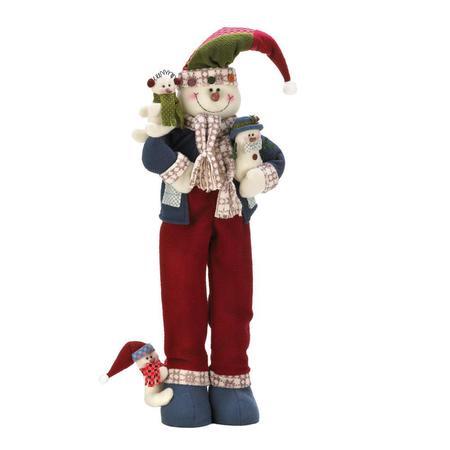 Merry snowman plush d%c3%89cor
