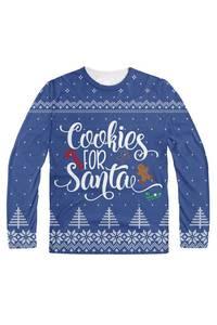 Cookies for santa blue