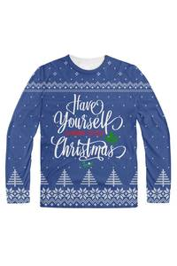 Have yourself a merry little christmas blue