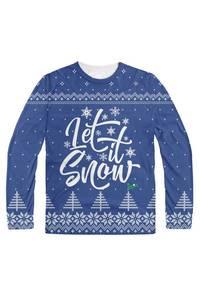 Let it snow  braaaaaap blue
