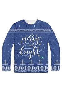 Merry and bright blue