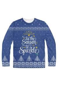 Tis the season to sparkle blue