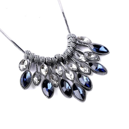 Meyfflin statement necklaces pendants crystal maxi necklace for women female chain collar collier femme 2017 fashion 18